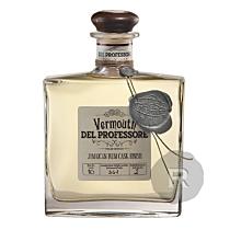 Del Professore - Vermouth - Jamaican Rum finish - 50cl - 18°