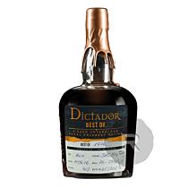 Dictador - Rhum hors d'age - Best of 1976 - 70cl - 43°