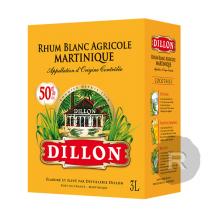 Dillon - Rhum blanc - Cubi - 3L - 50°