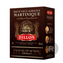 Dillon - Rhum vieux - Carte Noire - Cubi - 3L - 43°
