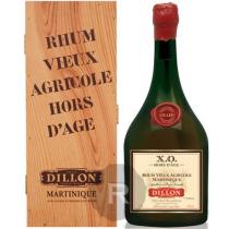 Dillon - Rhum hors d'âge - Grenadier - XO - Magnum - Edition limitée - Coffret bois - 1,5L - 43°