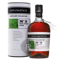 Diplomatico - Rhum hors d'âge - Distillery Collection - N°3 - Pot still - 70cl - 47°