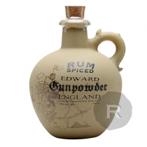 Edward Gunpowder England - Rhum épicé - Spiced Rum - 75cl - 40°