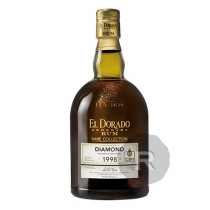El Dorado - Rhum hors d'âge - Diamond - CBH Anniversary - 1998 - 70cl - 55,1°