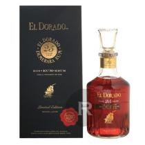 El Dorado - Rhum hors d'âge - Demerara Rum - Carafe - 25 ans - Millésime 1988 - 75cl - 43°
