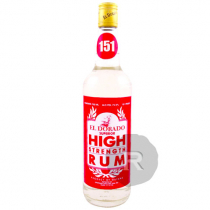 El Dorado - Rhum blanc - High Strength 151 Proof - 75cl - 75,5°