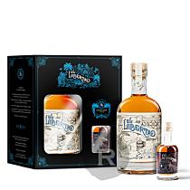 El Libertad - Rhum épicé - Spiced rum - Coffret mignonnette 8 ans - 70cl - 40°