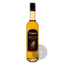 El Dorado - Rhum ambré - Spiced - 75cl - 40°