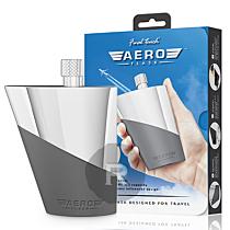 Final Touch - Flask Aero - Inox - Entonnoir intégré - 10cl