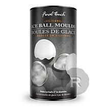 Final Touch - Moule à glaçon boule - Lot de 2 moules - 5cm x 2