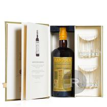 Hampden - Rhum hors d'âge - Pure Single Jamaican Rum - 8 ans - Coffret 2 verres - 70cl - 46°