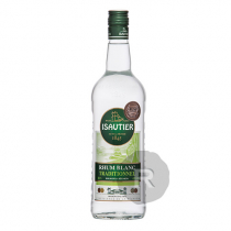 Isautier - Rhum blanc - Traditionnel blanc - 1L - 49°
