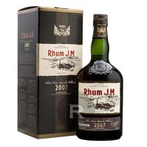 JM - Rhum hors d'âge - Millésime 2007 - Bouteille numérotée - 70cl - 42,9°