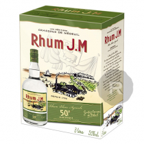 JM - Rhum blanc - Cubi - 3L - 50°