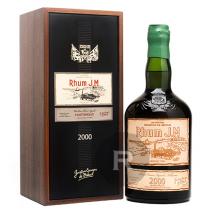 JM - Rhum hors d'âge - Millésime 2000 - 15 ans - Etiquette cuir - 70cl - 41,9°