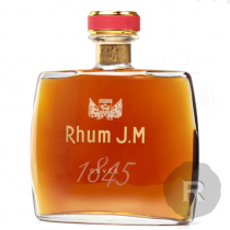 JM - Rhum hors d'âge - Cuvée 1845 - Carafe - 70cl - 42°