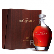 Kirk and Sweeney - Rhum hors d'âge - XO - Coffret luxe - 70cl - 65,5°