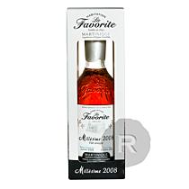 La Favorite - Rhum hors d'âge - Millésime 2008 - Fût unique n°13 - 70cl - 44,9°
