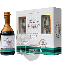 La Favorite - Rhum hors d'âge - Cuvée Confrèrie du Rhum - Millésime 1995 - Cask n° 26 - 70cl - 45,3°