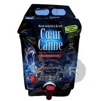 La Favorite - Rhum blanc - Cœur de canne - cubi - 3L - 50°