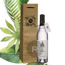 La Compagnie du Rhum - Sac Kraft - 1 bouteille - Poignées coton