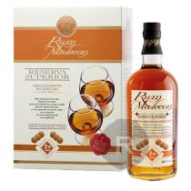 Malecon - Rhum hors d'âge - 12 ans - Reserva Superior - Coffret 2 verres - 70cl - 40°