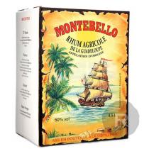 Montebello - Rhum blanc - Cubi - 4,5L - 50°