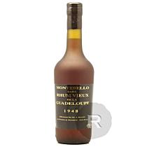 Montebello - Rhum hors d'âge - Millésime 1948 - 70cl - 47°