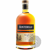Montebello - Rhum hors d'âge - Single Cask - Millésime 1999 - Bouteille Numérotée - 70cl - 40°
