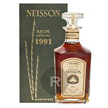 Neisson - Rhum hors d'âge - Millésime 1991 - Brut de fût - Carafe 250 ex - 70cl - 46,3°