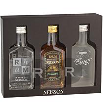 Neisson - Coffret 3 bouteilles - Blanc - Esprit - Extra vieux - 60cl - 55,8°