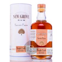 New Grove - Rhum hors d'âge - 2012 - Savoir faire - Fut 256 - 70cl - 55°