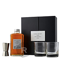 Nikka - Whisky - From the barrel - Blend - Coffret 2 verres + Jigger - 50cl - 51,4°