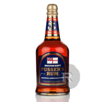 Pusser's - Rhum ambré - British Navy - Blue Label - 70cl - 40°