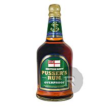 Pusser's - Rhum ambré - Overproof - 70cl - 75°