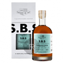 SBS - Rhum hors d'âge - Barbados Foursquare - Marsala finish - Millésime 2009 - 70cl - 52°