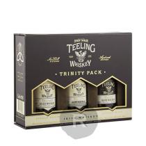 Teeling - Whiskey - Trinity Pack - Mignonnettes Premium Blend/Single Malt/Single grain - 15cl - 46°