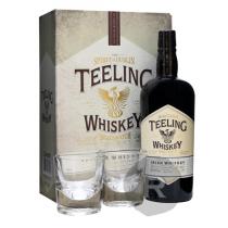 Teeling - Whiskey - Premium Blended Irish Whiskey - Coffret 2 verres - 70cl - 46°