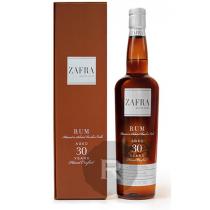 Zafra - Rhum hors d'âge - Master series - 30 ans - 75cl - 40°