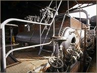 photo de la chaudiere distillerie montebello