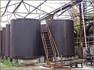 photo de cuves de fermentation rhum hardy