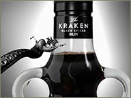photo de bouteille Kraken
