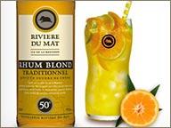 photo de cocktail de rhum riviere du mat