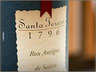 photo de bouteille de rhum 1796 santa teresa
