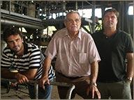 photo des dirigeants Marsolle de la distillerie Montebello