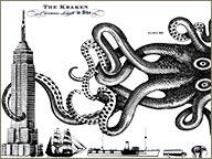 photo de publicite rhum kraken