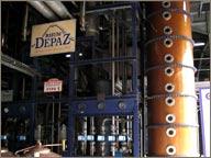 photo de la collone a distiller depaz