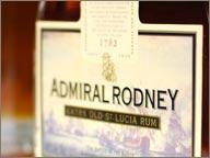 Photo de carafe de rhum admiral Rodney