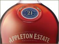 photo de bouteille appleton estate 21 ans