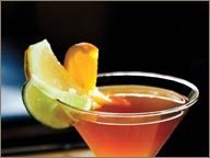 photo de cocktail de rhum goslings